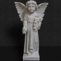 White Marble Angel 25""