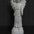Grey Granite Guardian Angel 24""
