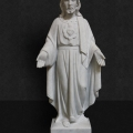 MS1009 Italian Marble Sacred Heart of Jesus 18""