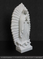 Marble Our Lady of Guadalupe Statue 22""