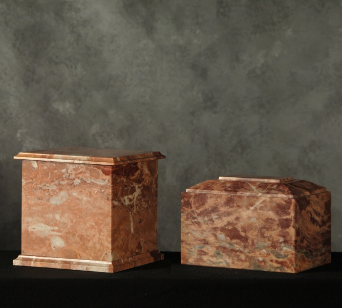Rectangle Marble Cremation Urns