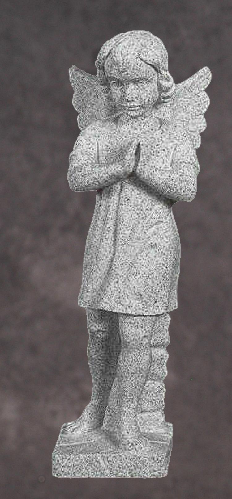 Hand Carved Granite Angel Statues