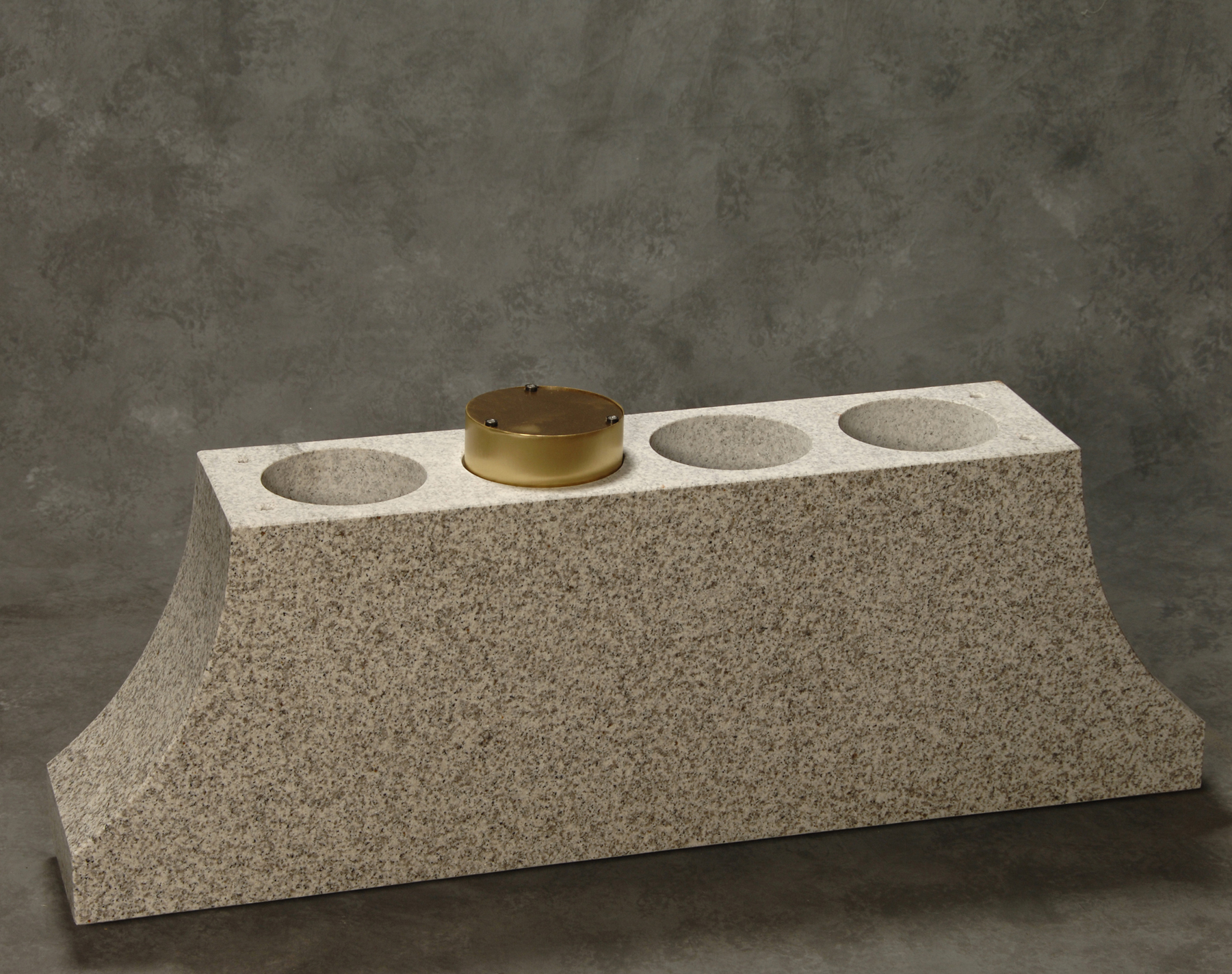 Roquemore Marble And Granite Bronze Canisters