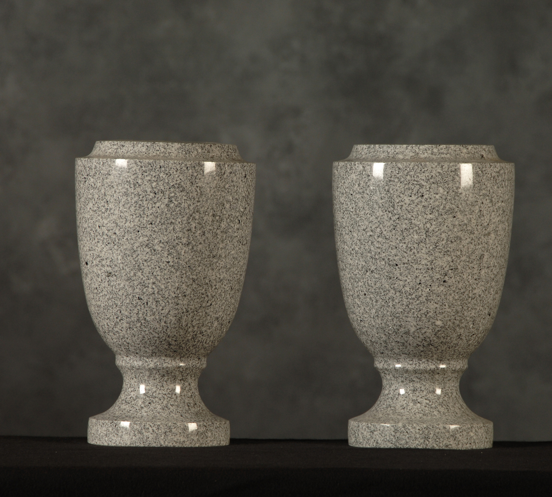 Roquemore marble and granite specialty flower vases medium gray v9 style vase 6x10 floridaeventfo Images